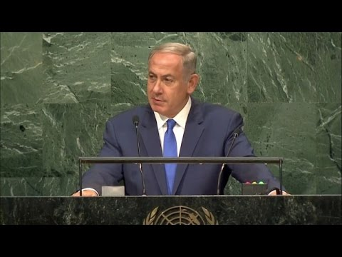 In fiery UN speech, Netanyahu invites Abbas to address Knesset