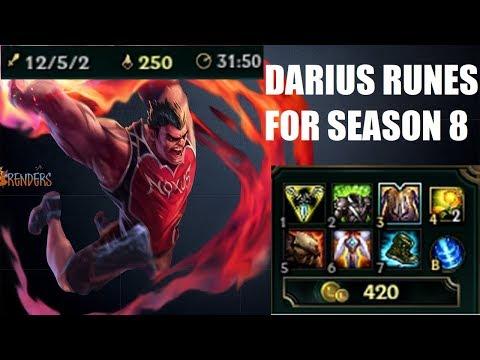 Dunk - RUNES FOR DARIUS IN SEASON 8