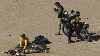 Luto en el Dakar con la muerte del portugués Paulo Gonçalves