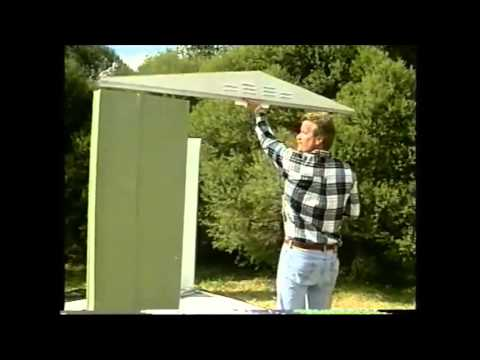 Garden Sheds Metal metal garden shed erectiontaylors garden buildings - youtube