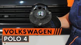Ako vymeniť uloženie pružiacej vzpery na VW POLO 4 [NÁVOD AUTODOC]