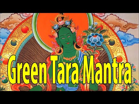 New Deepest Green Tara Mantra 綠度母心咒  (108 Repetitions) Inner Peace+Meditation+Yoga. 2020