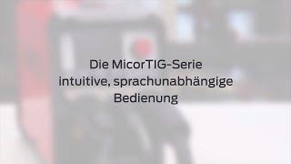 MicorTIG Bedienvideo DE