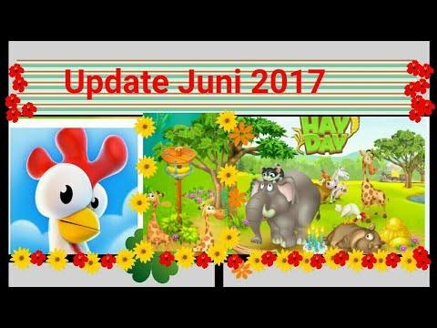 Hay Day Sommer Update 19.06.2017 Reservat Sanctuary neue Wildtiere Giraffen Stadt neue Deko