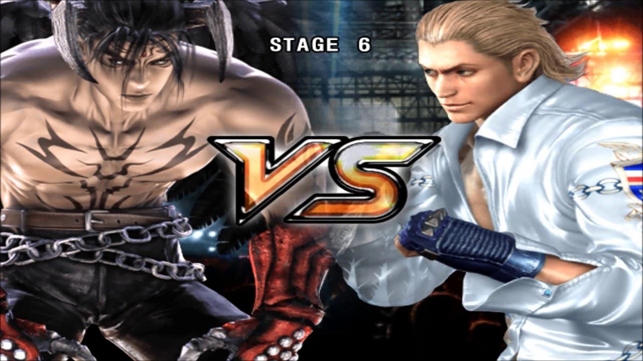 Tekken 5 Devil Jin Story Playthrough Youtube