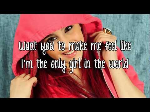 Ariana Grande - Only Girl In The World (Lyrics On Screen)HD