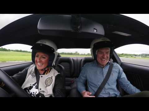 Top Gear Interview with Presenter Sabine Schmitz on Track