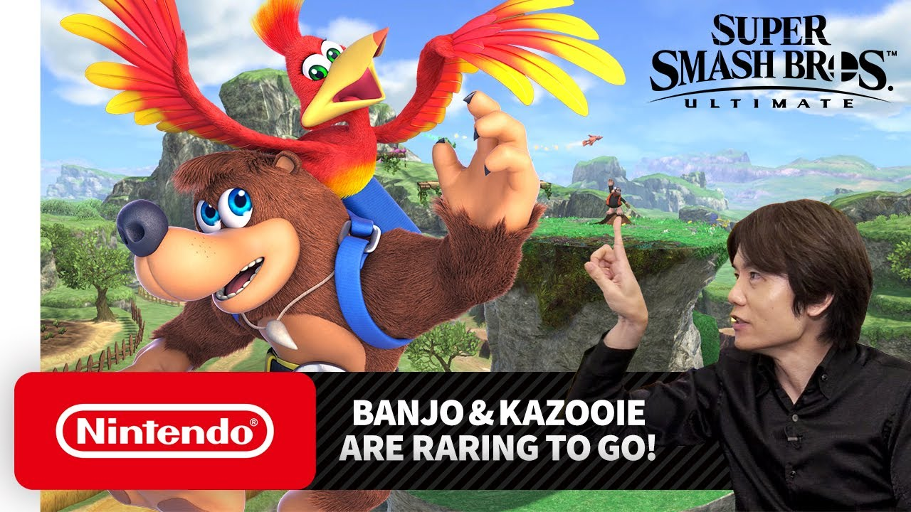 Super Smash Bros Ultimate DLC with Banjo & Kazooie and Terry
