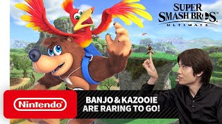 "Super Smash Bros. Ultimate - Mr. Sakurai Presents ""Banjo & Kazooie"""