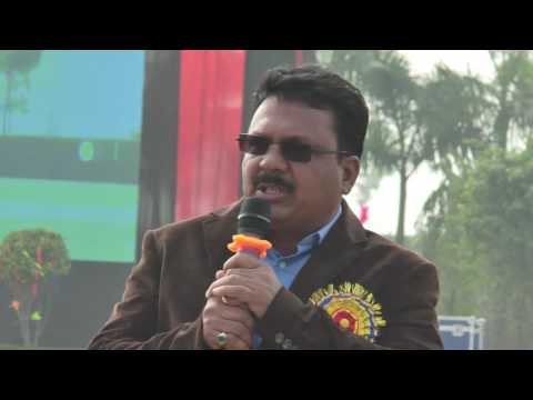 A M World School : Sports Day - Speech by Managing Director of A M World School