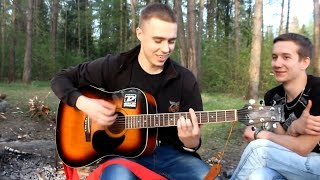 """Download под гитару """"Был осенний тёплый вечер"""" Авторская песня про любовь под гитару Mp3 and Videos"""