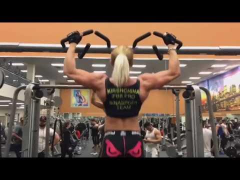 [ Elena Kirshchina ] IFBB Pro Champion of Europe & Russia Female Bodybuilder