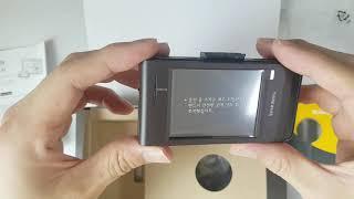 아이나비 블랙박스 QXD3000 언팩