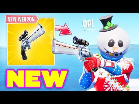 Duo Queues/Scrims $10 A Win - New Scoped Revolver Gameplay - Fortnite Battle Royale thumbnail