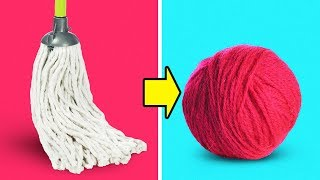 8 EASY AND COOL YARN IDEAS