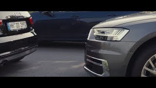 NEW Audi A8 2018 Teaser Artificial Intelligence and traffic jam (Audi A8 D5)
