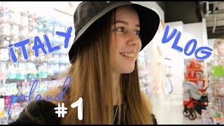 ITALYVLOG 1 по дороге в Италию путешествие на машине Польша шоппинг