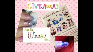 Shemodern Coloring Foils and Giveaway Winners