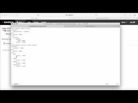 Rundeck Feature Tours: Introduction to Rundeck and Docker