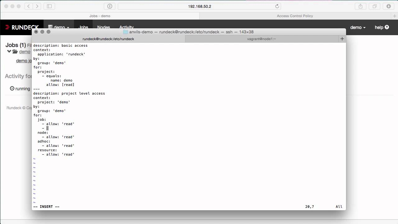 Rundeck: Configuring Access Control