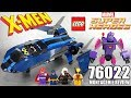 Lego Marvel Super Heroes X-Men vs The Sentinel Set 76022 Blackbird [Montagem e Review]