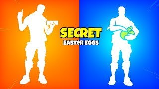 Fortnite SECRET EMOTE Oeufs de Pâques..!