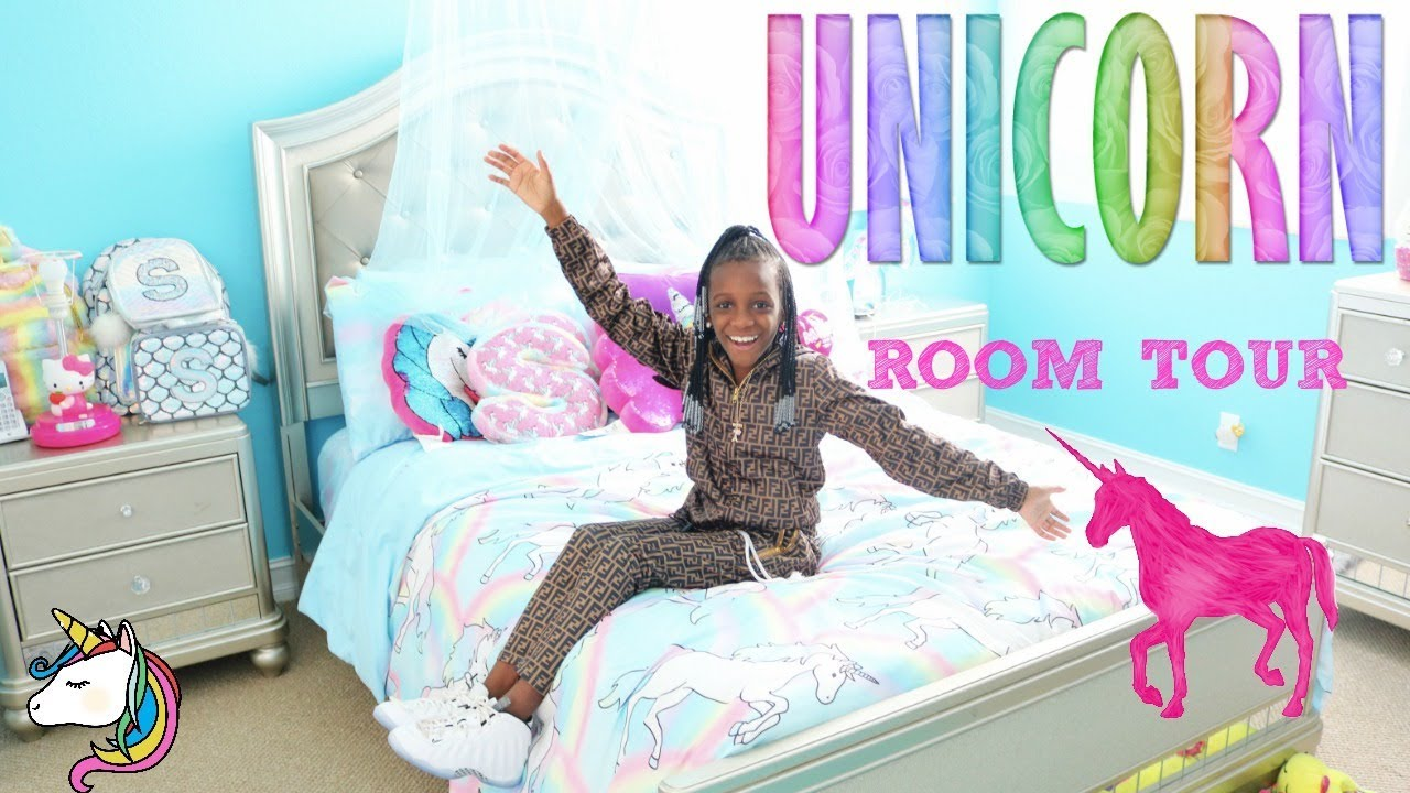 Yaya S Unicorn Room Tour Youtube