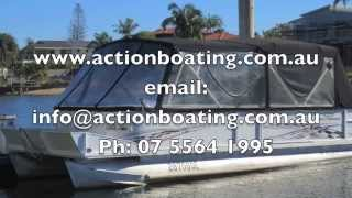 Crest 2570 Le Pontoon Boat For Sale Action Boating Boat Dealer Gold Coast