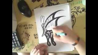 Repeat youtube video Amazing Butterfly Tattoo