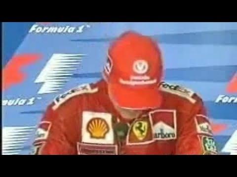 Formel 1 - Schumacher weint (Schumi cries in Monza 2000 - Eng Sub)