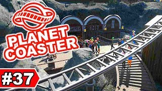 Neue Monorail-Station in Thrymheim   Planet Coaster Let's Play #37