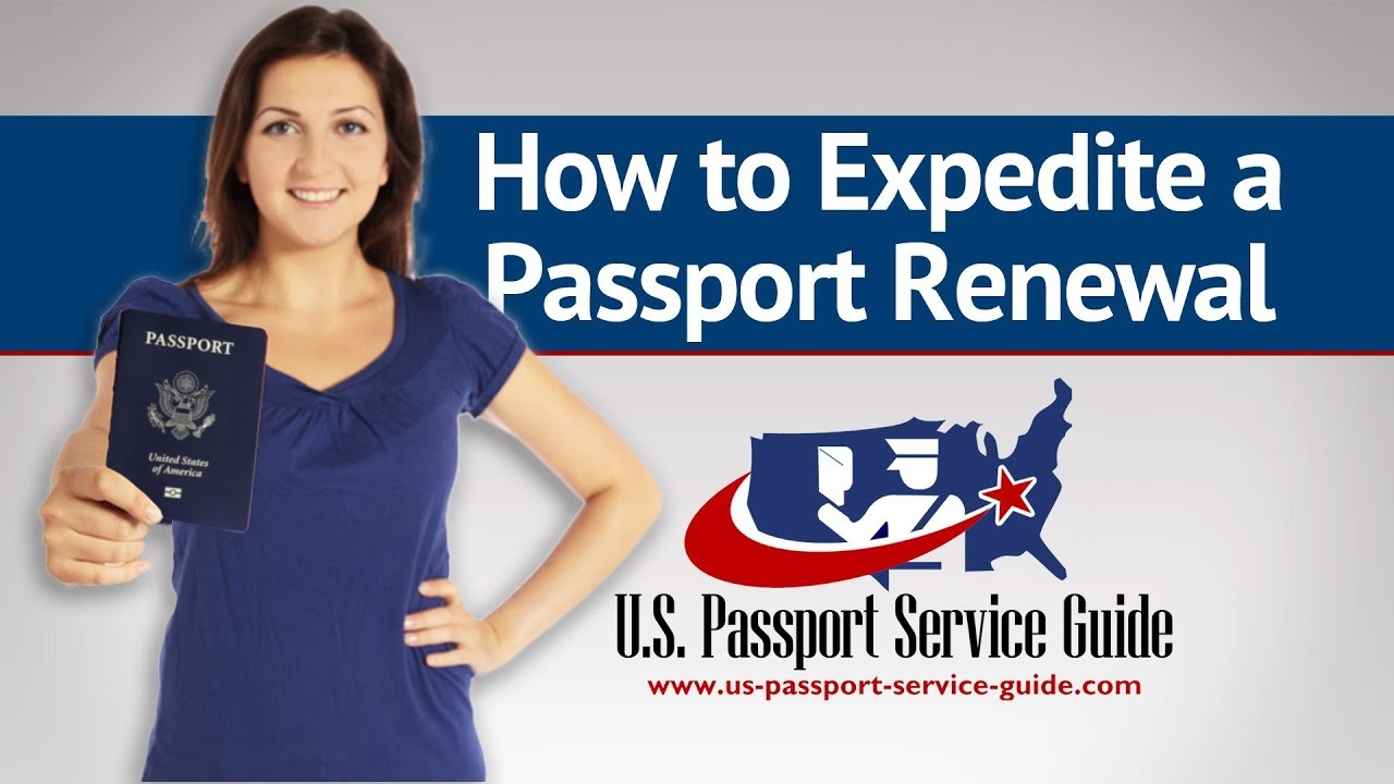 us passport service guide How to Expedite a Passport Renewal - YouTube