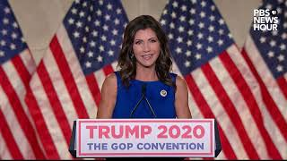 WATCH: Gov. Kristi Noem's full speech at the Republican National Convention