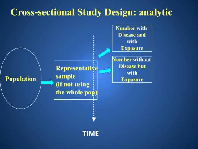 Cross Sectional Study Design Clipzui