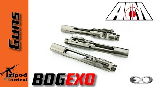 aim bdgexo nickel boron exo coated bolt carrier group unboxing