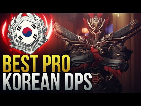 THE BEST KOREAN PRO DPS - Overwatch Montage thumbnail