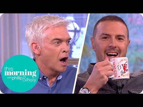 Paddy McGuinness Offends Phillip and Defaces Eamonn's Mug! | This Morning