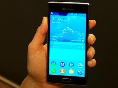 Stylish Samsung Z Is Tizens First Phone