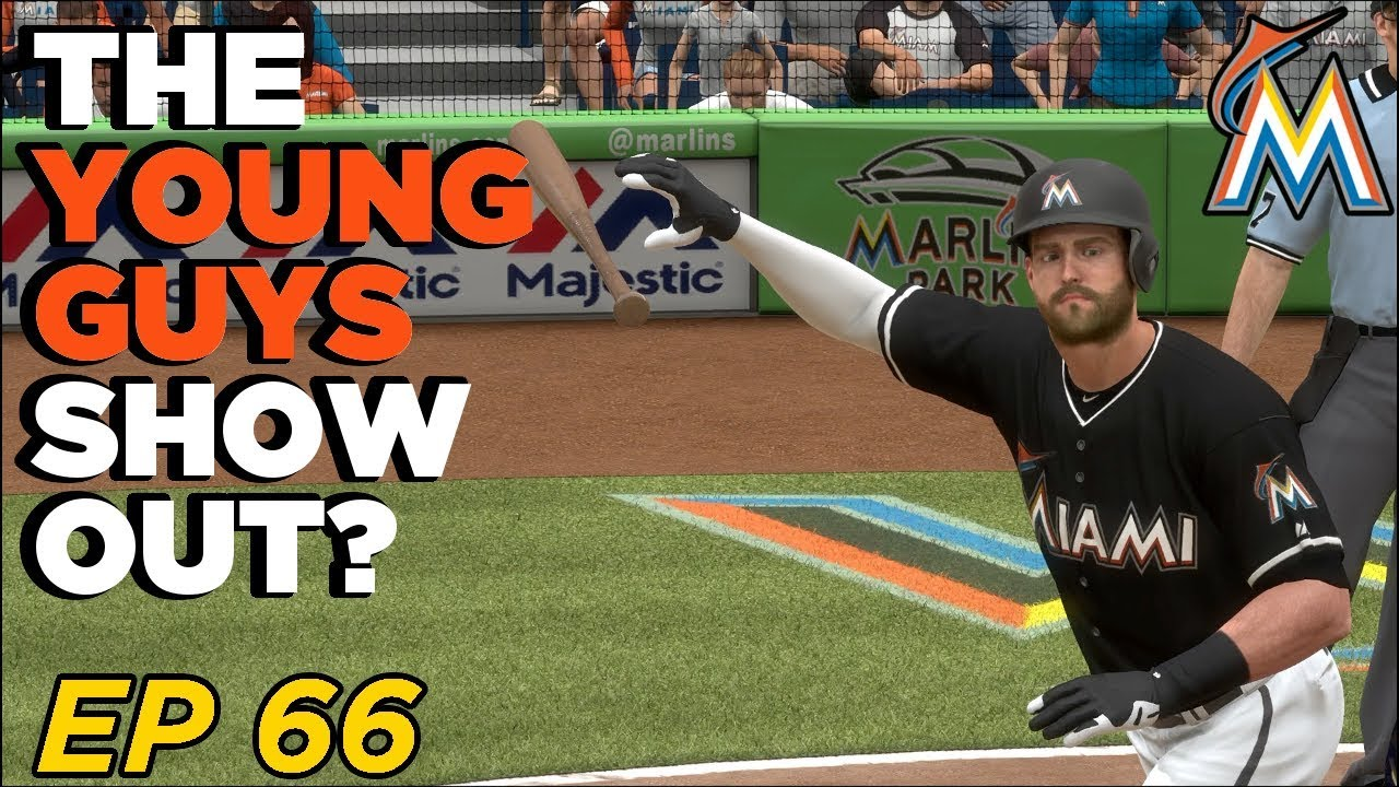 Mlb The Show 2020.Opening Day 2020 A Lot Of New Faces Mlb The Show 18 Franchise Miami Marlins Ep 66