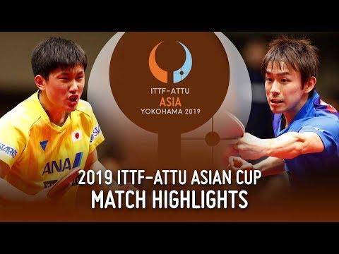 Tomokazu Harimoto Vs Koki Niwa | 2019 ITTF-ATTU Asian Cup (Pos 3-4)