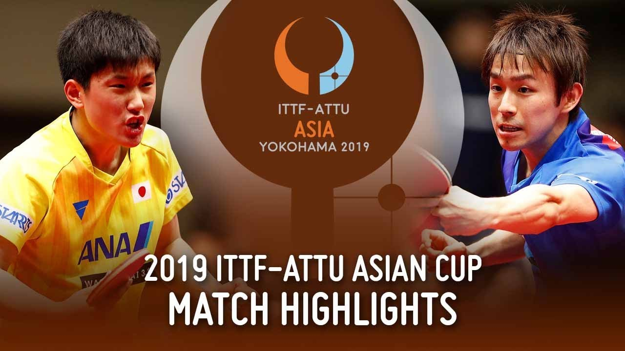 Download Tomokazu Harimoto vs Koki Niwa   2019 ITTF-ATTU Asian Cup (Pos 3-4)