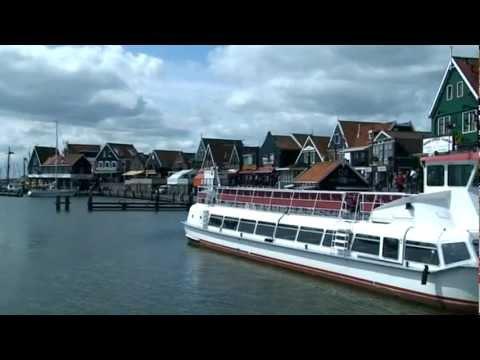 Pays Bas #Hollande Découverte Du Petit Port De #Volendam