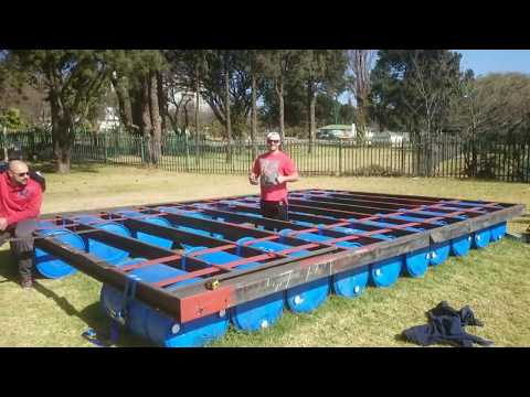 Building a Party/Pontoon Barge from start to finish