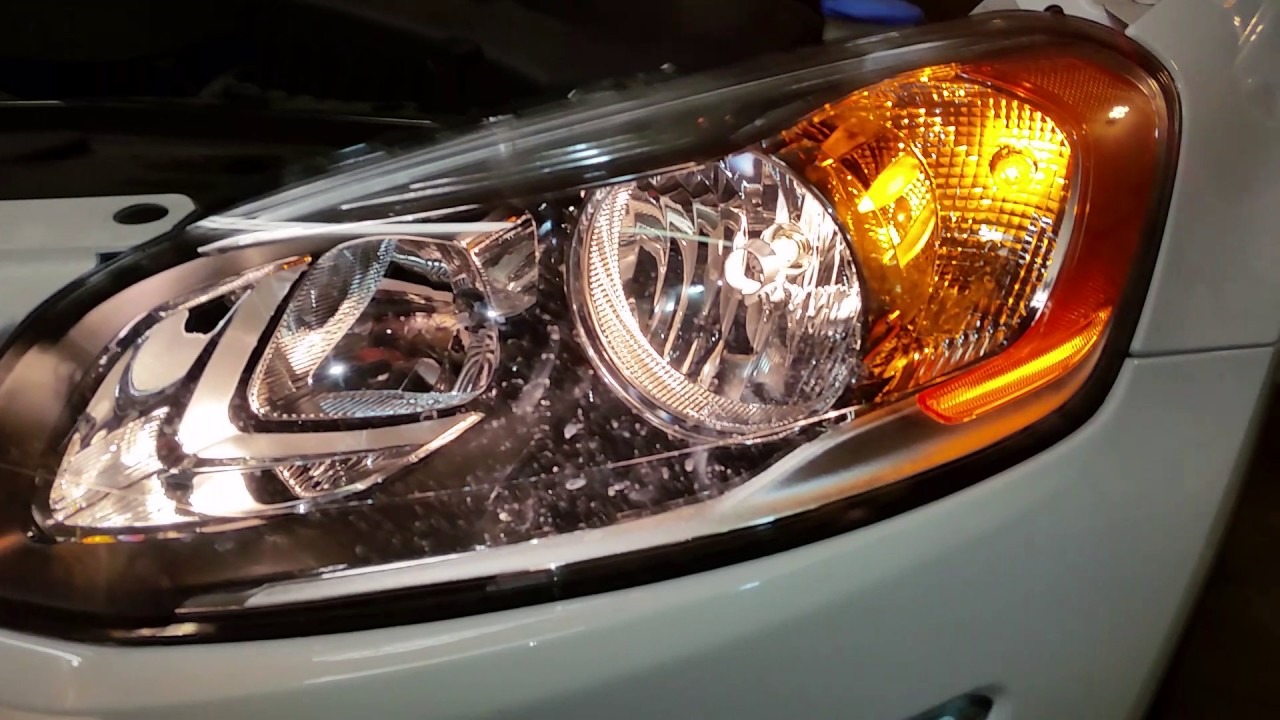 2010 2017 Volvo Xc60 Suv Headlights Testing After Changing Burnt Out Light Bulbs