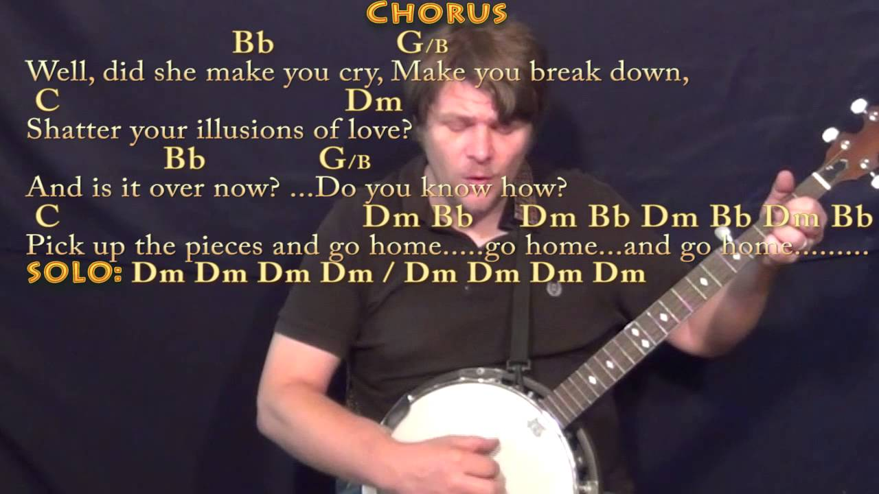 Gold Dust Woman Fleetwood Mac Banjo Cover Lesson With Chords