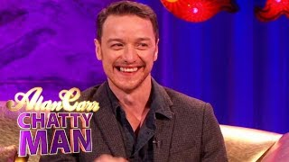James McAvoy Does A David Mitchell Impression - Full Interview On Alan Carr: Chatty Man