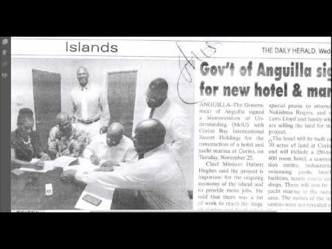 Anguilla - Airport's scandal - Sale @ $1.00 !!!