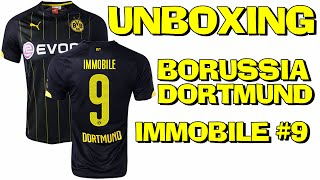 603100704 Unboxing Camisa Borussia AWAY #9 IMMOBILE 2015 Jersey Aliexpress (PT-BR) HD