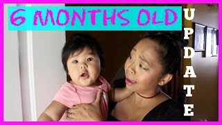 6 MONTHS OLD UPDATE | BABY #4