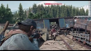 Days Gone - Old Sawmill Boss Fight  (BIGGEST HORDE!!)